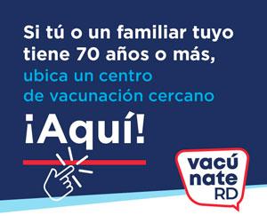Si tú o un familiar tuyo tiene 70 años o más, ubica un centro de vacunación cercano ¡Aquí!